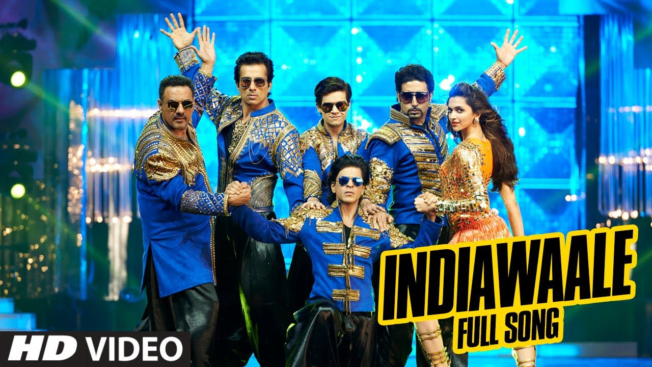 Official India Waale Full Video Song Happy New Year Shah Rukh Khan Deepika Padukone Happy New Year Movie Happy New Year 2014 New Year 2014