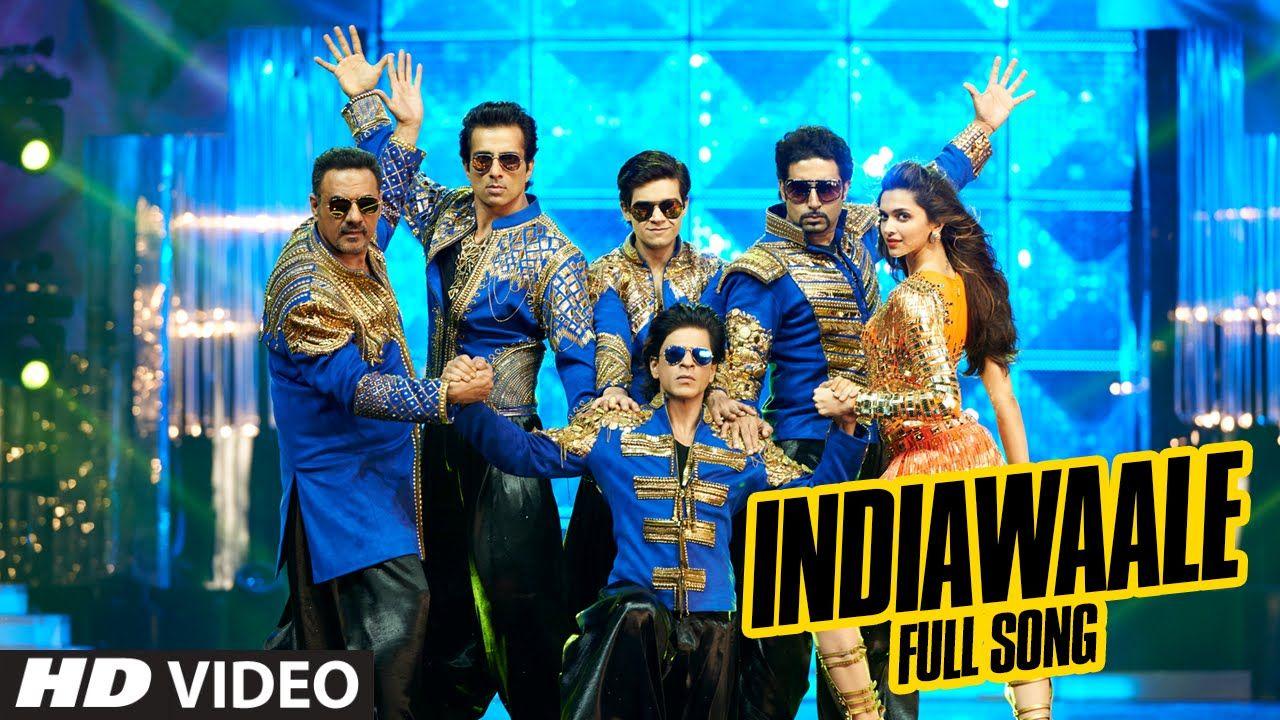 Official India Waale Full Video Song Happy New Year Shah Rukh Khan Deepika Padukone Happy New Year Movie Happy New Year 2014 New Year 2014