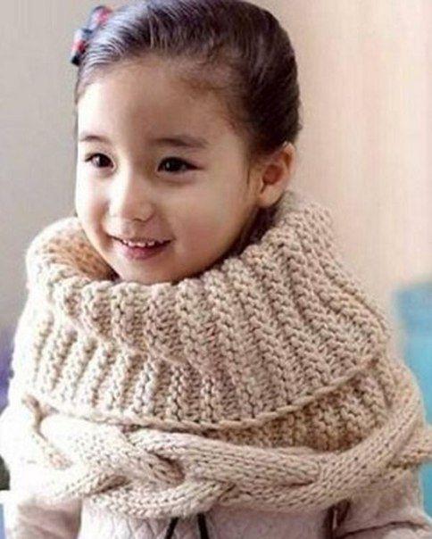 Схема вязания шарфа для детей фото 387