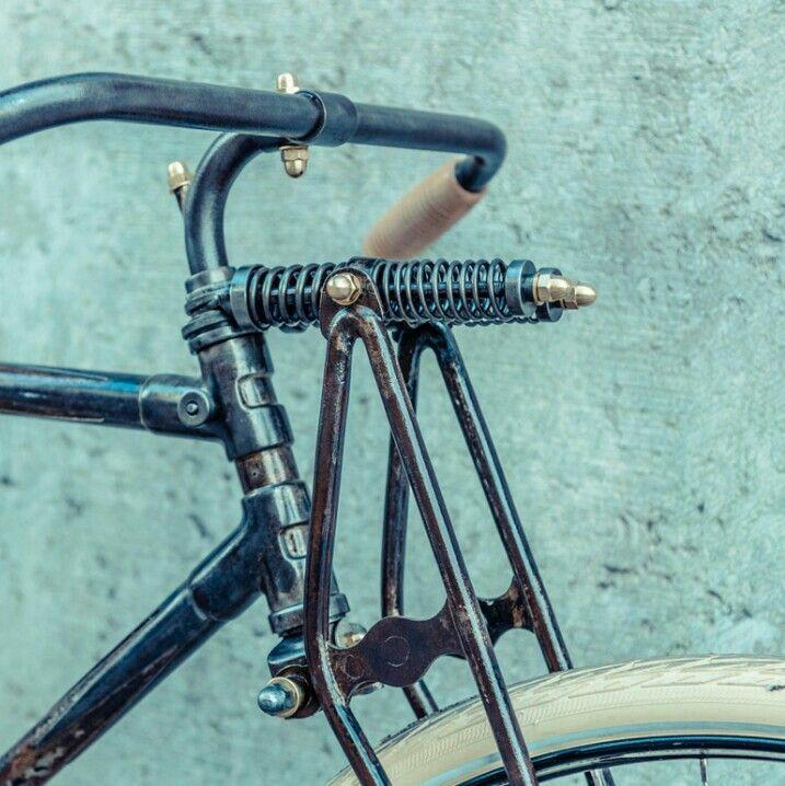 Springer Fork Bike Design Wood Bike Vintage Bikes
