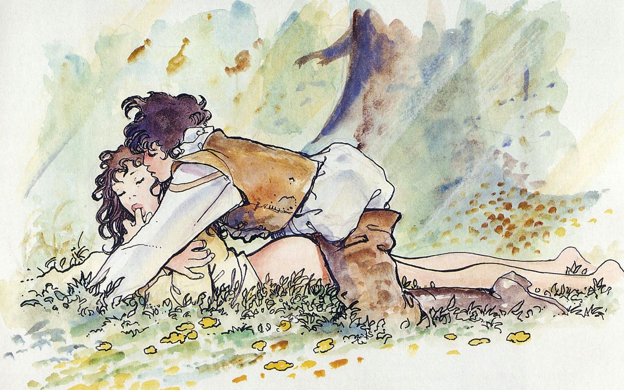 Эротические рисунки графика, Эротические рисунки девушек и женщин - голые картинки 23 фотография