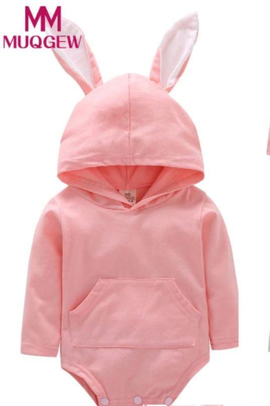 Little Bunny Hooded Onesie