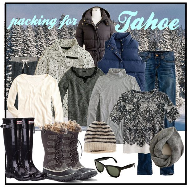 9146dd7ba9 Outfit Inspiration  Packing List for Tahoe Trip in 2019