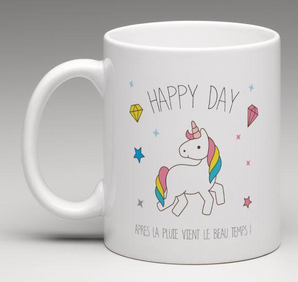 mug cadeau personnalis pour toutes les fans de licornes. Black Bedroom Furniture Sets. Home Design Ideas