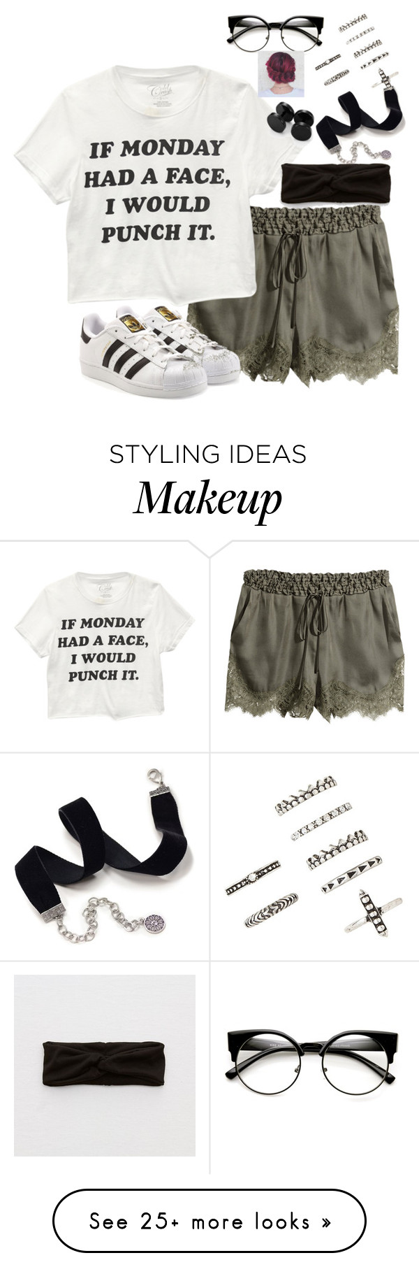 """""""Does anyone live in Ohio like me???"""" by kelsie-shideler on Polyvore featuring H&M, Wet Seal, adidas Originals, Sweet Romance, Aerie and Forever 21"""