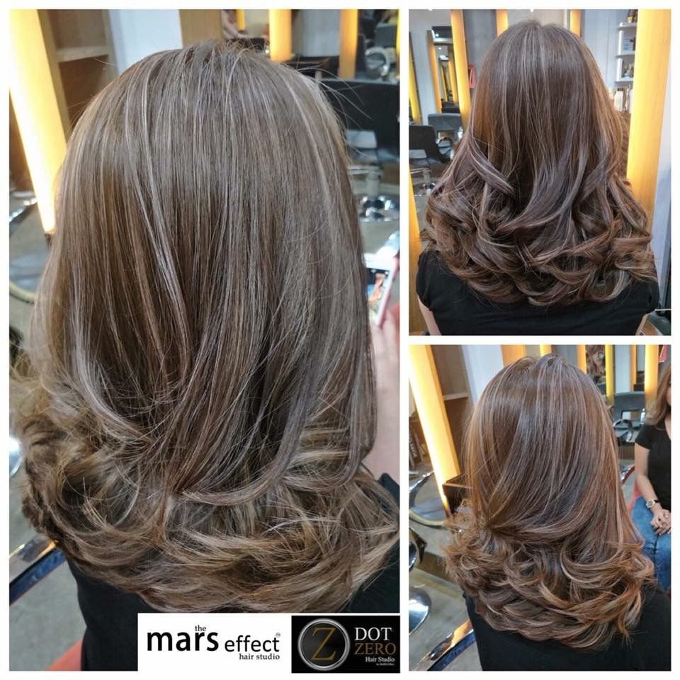 Manilasalon Balayage Ombr Rebond Cut Color Hair
