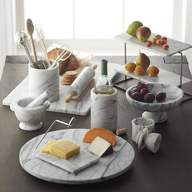 From Tabletops To Kitchen Accessories Marble Brings A Touch Of
