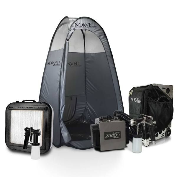 Norvell Pro Sunless Travel Kit (Z-3000) with Supplies and ...