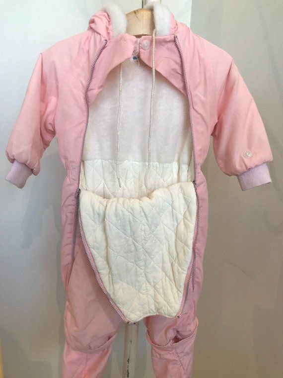 34b45d31a 1960s Toddler Snowsuit in 2018