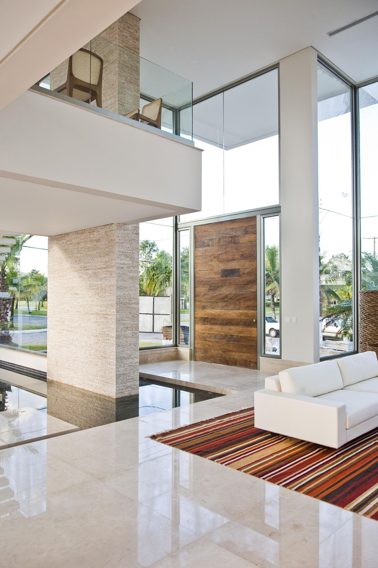 Liked this for the open ness and view probably too much glass styling is more modern than we really like also fancy interior design luxury homes  small home remodel rh pinterest