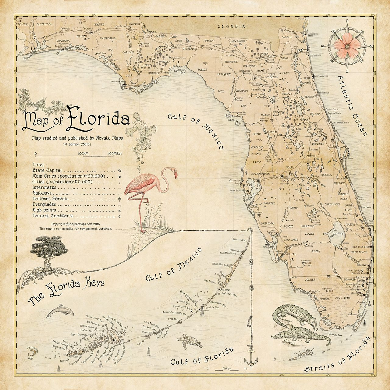 Complete Map Of Florida.Map Of Florida Map Of Florida In 2019 Map Of Narnia