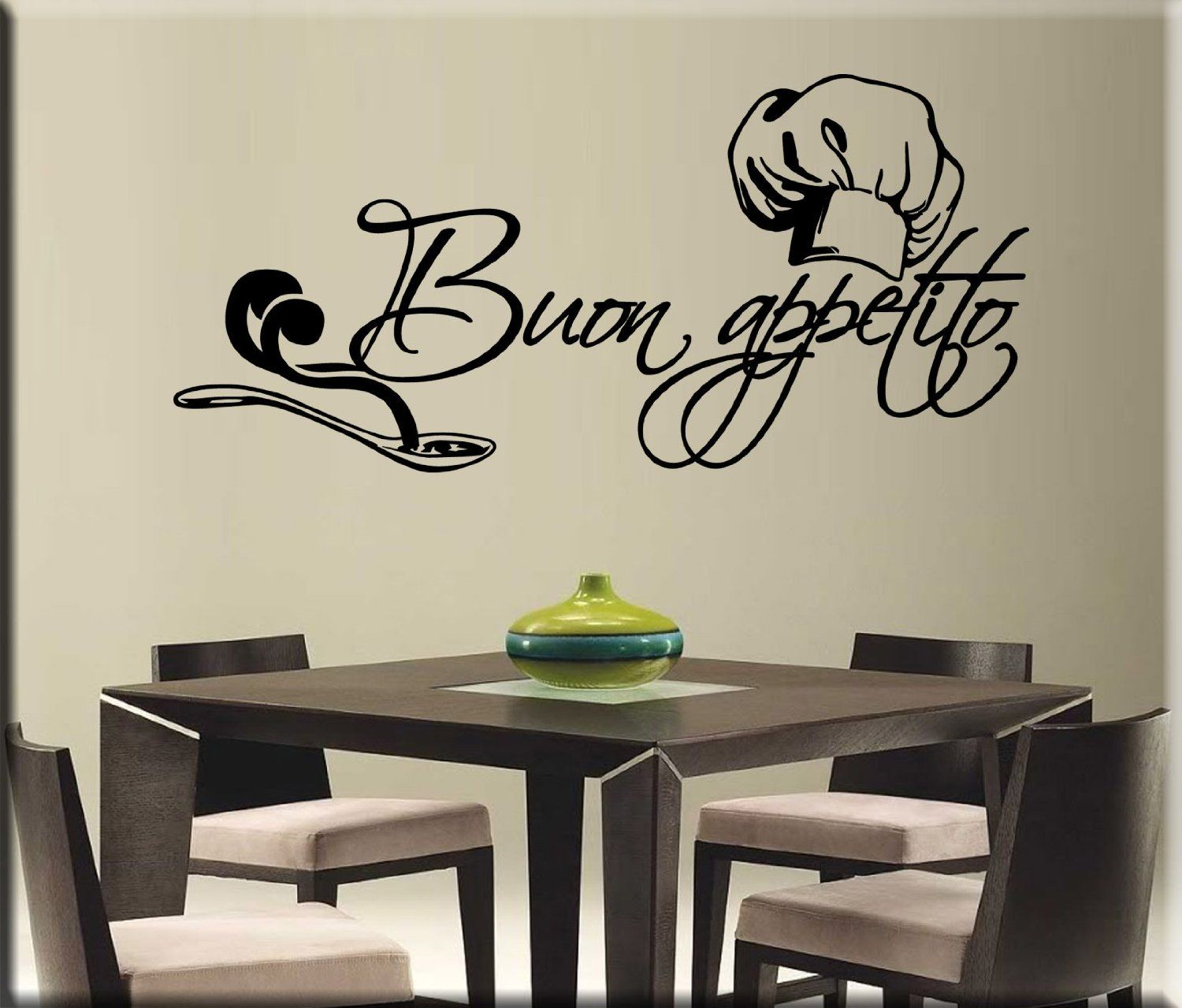 Essebi arredi murali adesivo per arredare wall stickers for Stickers cucina
