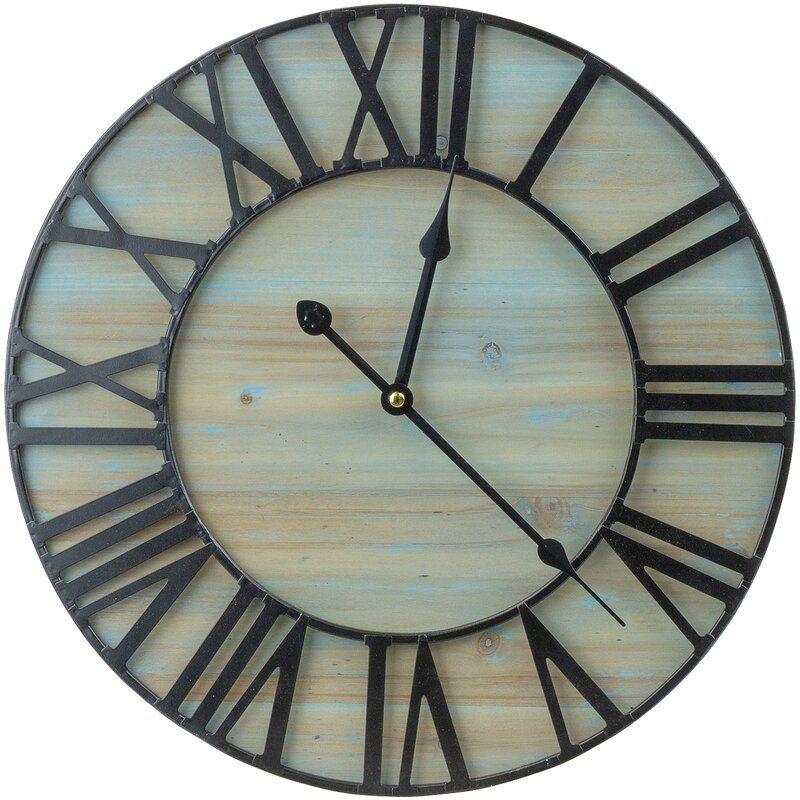 Finke 15 75 Wall Clock Clock Wall Decor Metal Clock Wall Clock
