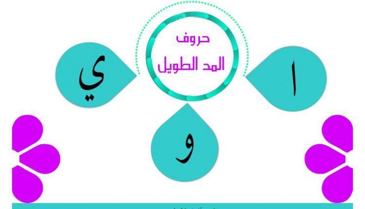 مذكرة لتعليم الاطفال حروف المد الطويلة بشكل سهل ومميز المعلمة أسماء Learning Arabic Pie Chart Chart