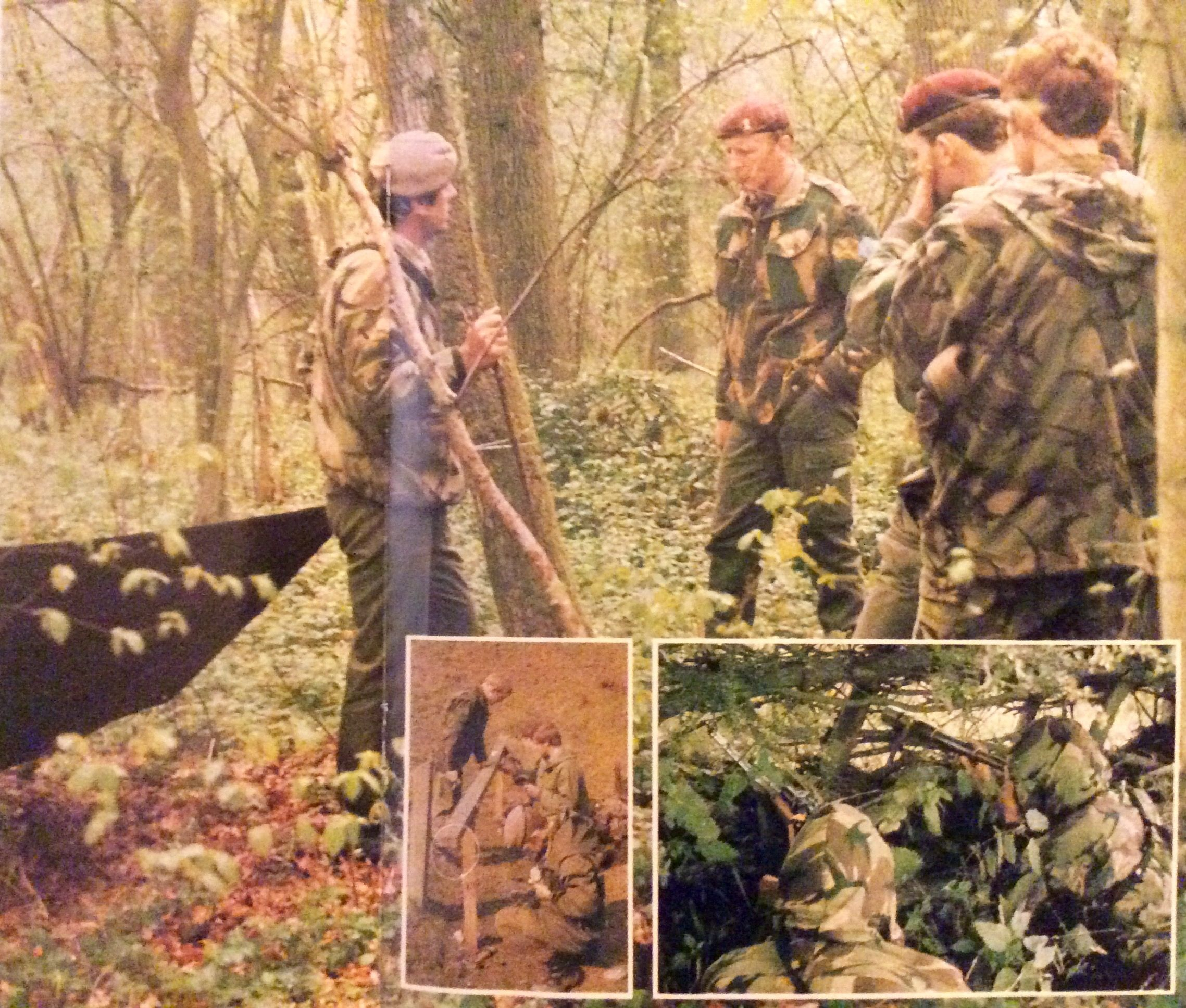 22 SAS Regiment continuation training phase during selection course late  1970s. | Special forces, British armed forces, Special air service