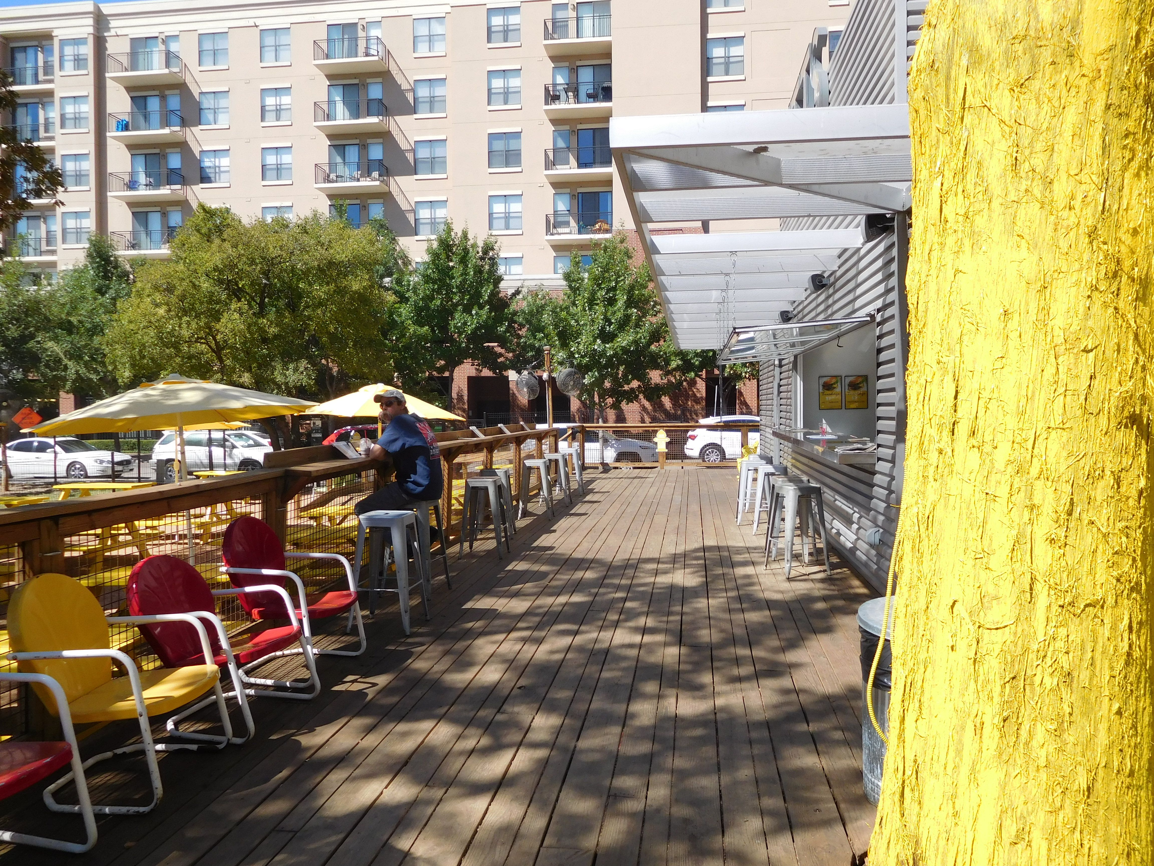 Canine Cantina, Dallas, Texas. Located near apartments and