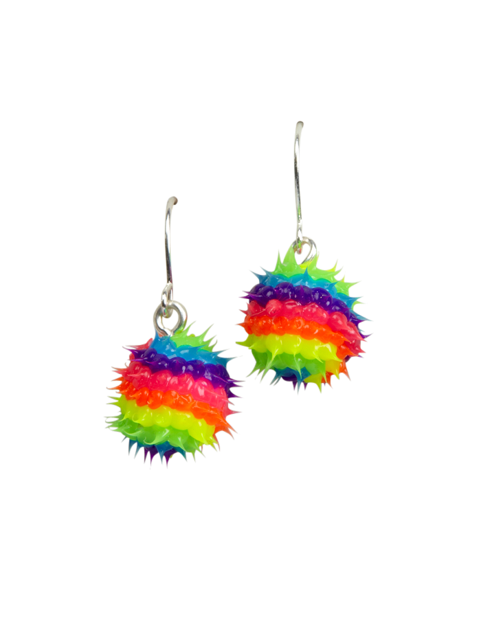 734a2a2fe426d Spikey Fireball Earrings | Earrings | Jewelry | Shop Justice | For ...