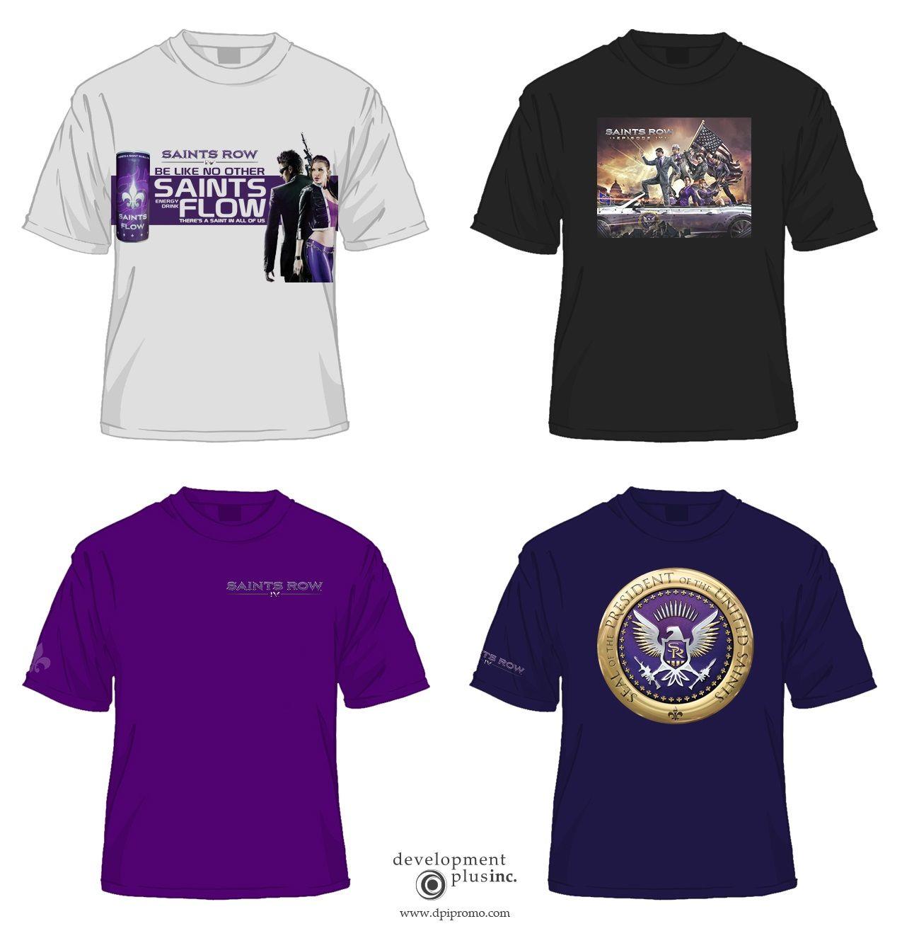 Shirt design concepts - T Shirt Design Concepts For Saints Row Iv Http Dpipromo