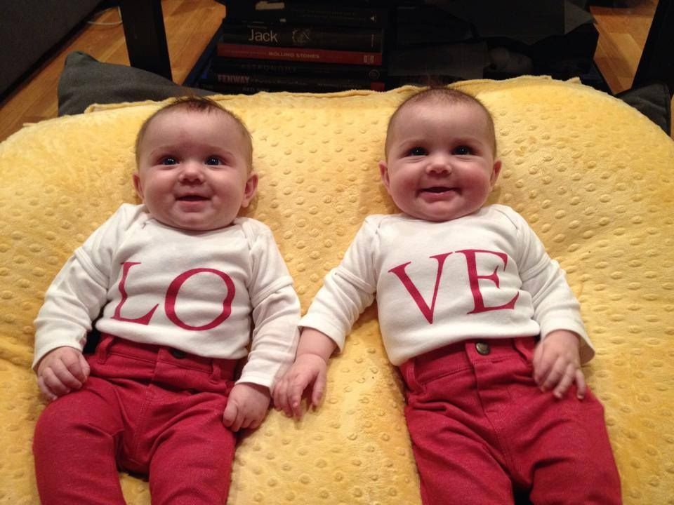 Happy Valentine S Day On The Twin Z Pillow Twin Nursing