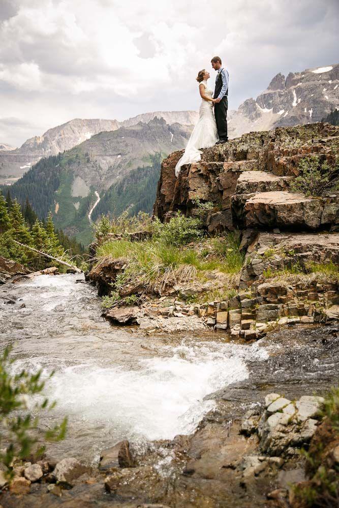 Mountain Wedding in Ouray, CO Mountain wedding photos