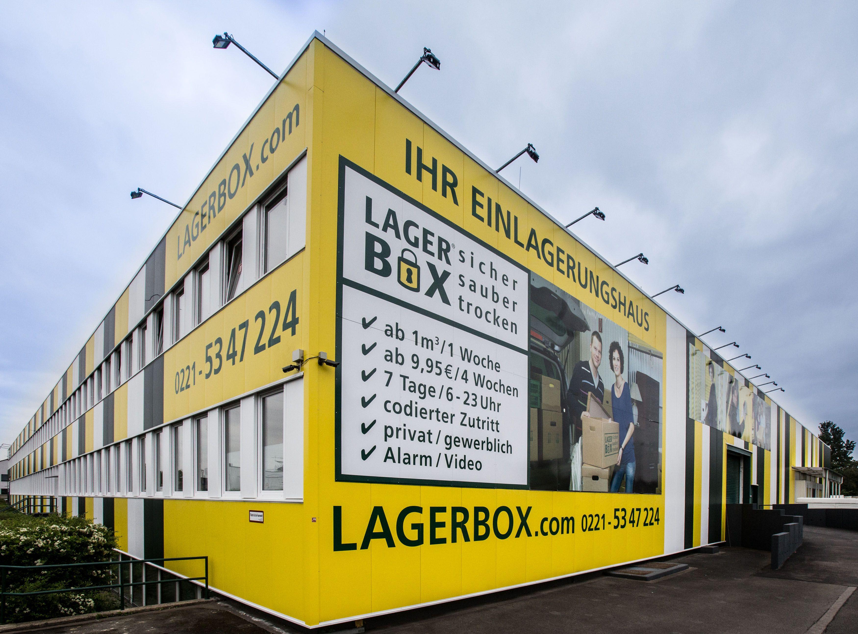 Selfstorage Lagerraum mieten bei LAGERBOX in Köln Ossendorf. sicher ...
