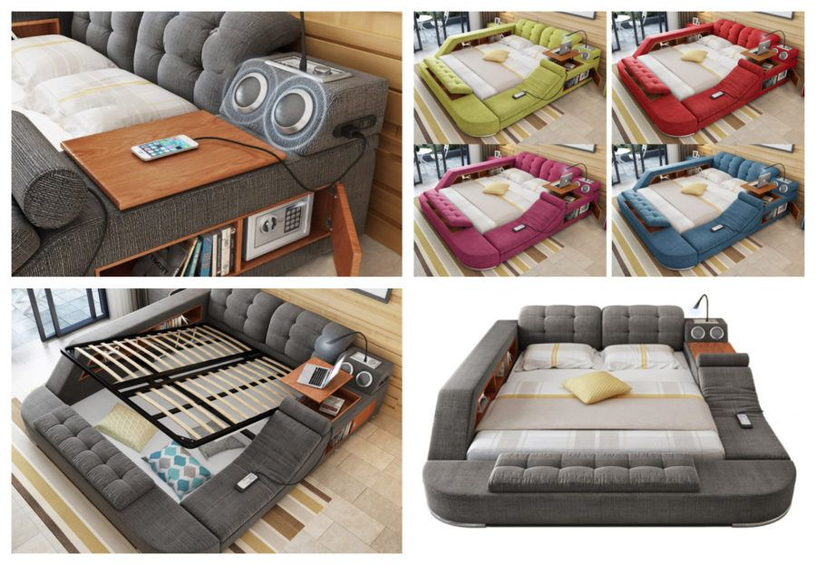The Ultimate Bed For All Comfort Lovers Bed Types Of Beds Bed