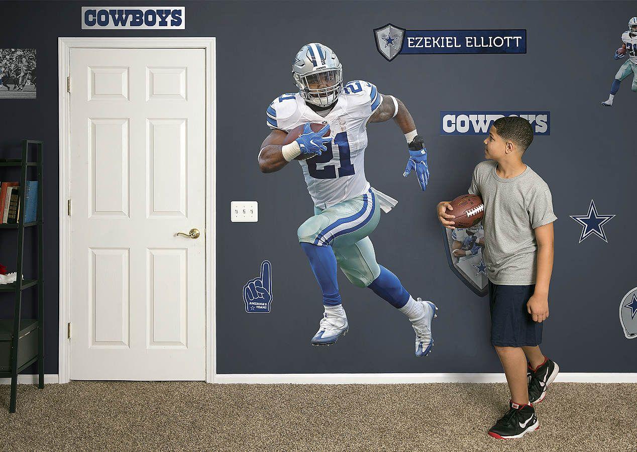 95b7615f2a8 Ezekiel Elliott Fathead Wall Decal | Fathead Favorites | Dallas ...