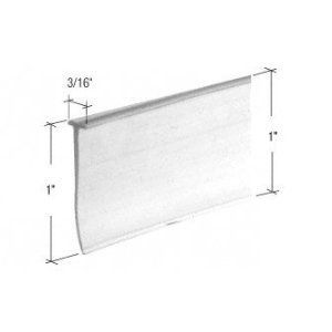 Crl Clear Quot T Quot Type Shower Door Bottom Seal And Wipe 36