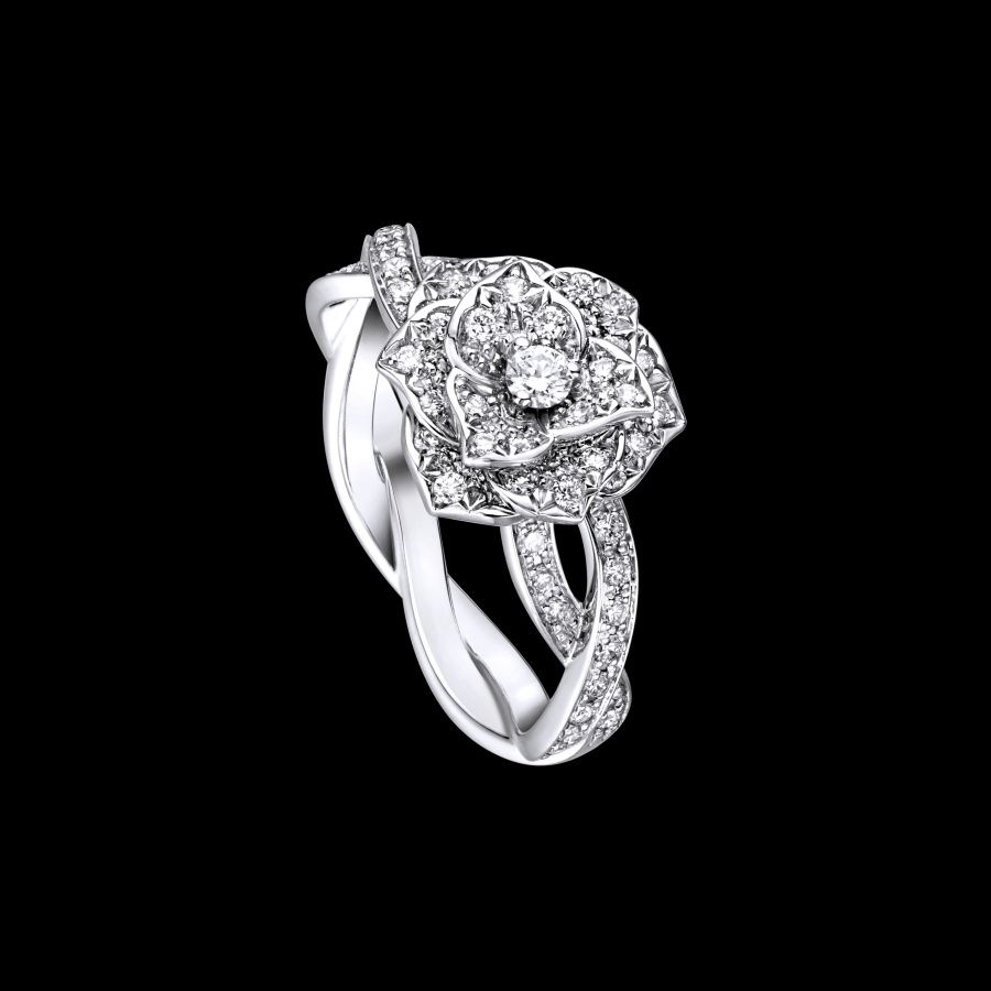 omg marry my face White gold Diamond Ring G34UR800 Piaget Luxury