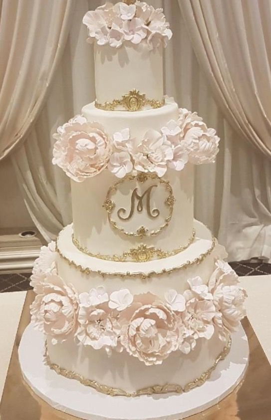 Pin By Eva Barrantes On Wedding Cakes Cake Toppers Elegant