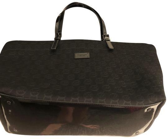 27ec31c51cb3 MICHAEL Michael Kors Black Fabric Weekend Travel Bag. Save 61% on the  MICHAEL