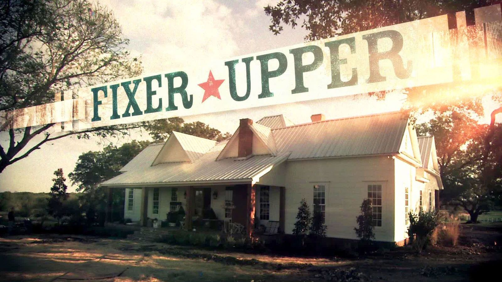 """These Beautiful Homes From HGTV's """"Fixer Upper"""" Are Now Available To Rent   - CountryLiving.com"""