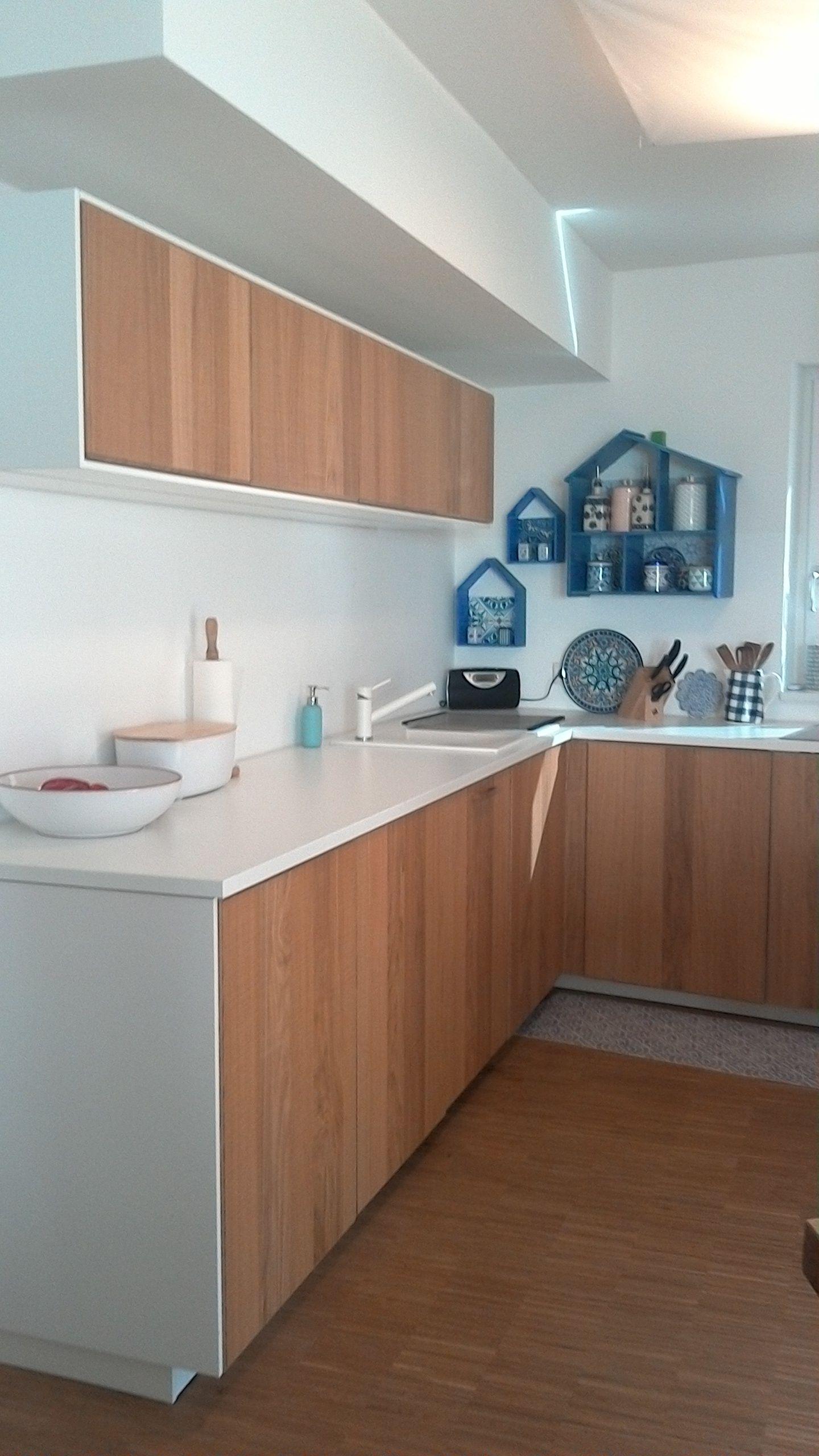 Meine Kuche Ikea Method Hyttan Mit Weisser Keramikspule Villeroy