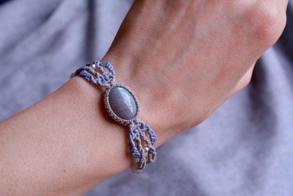 Macrame bracciale gioielli macramè braccialetti macrame