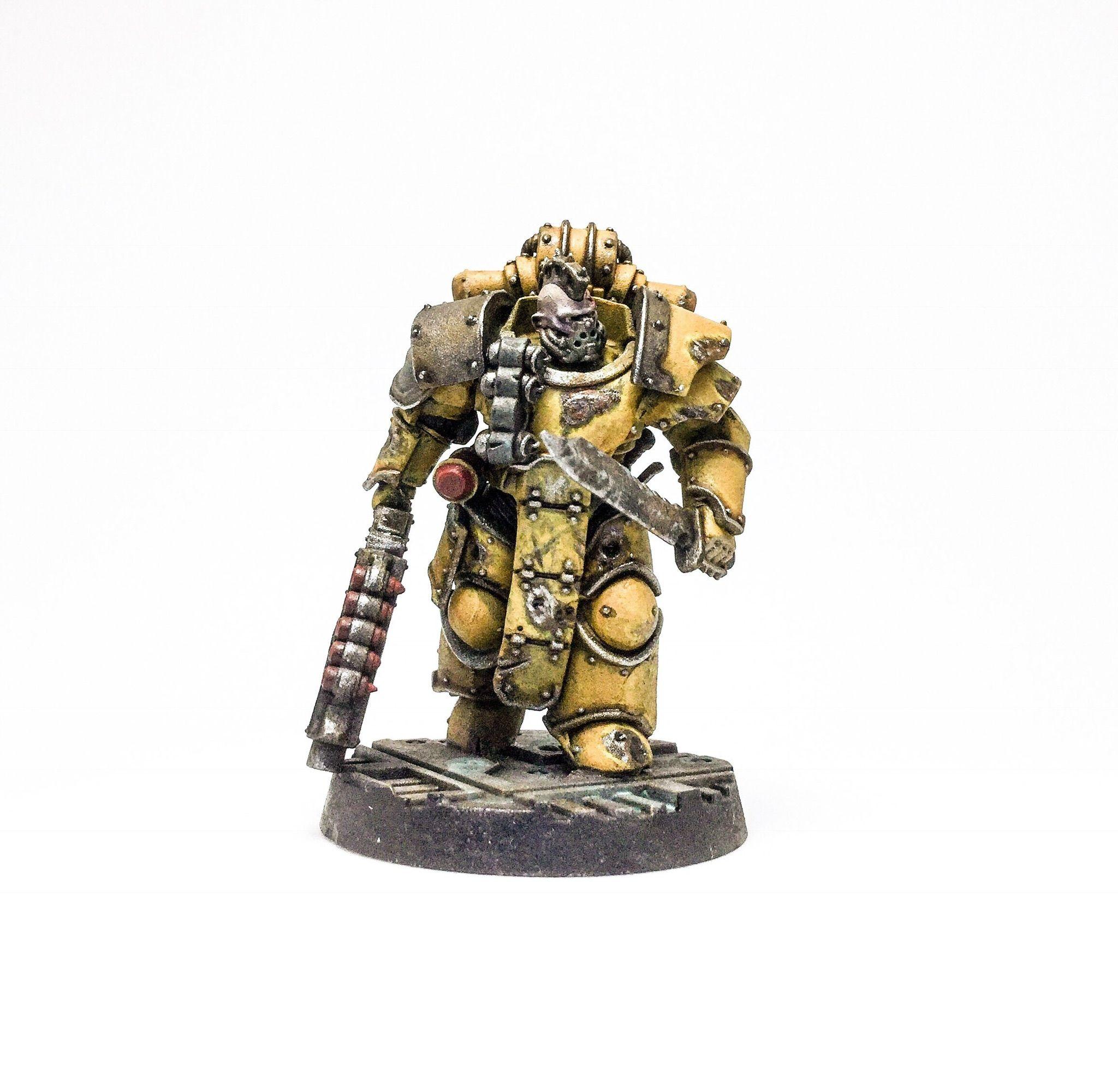 Goliath In Power Armour For Necromunda & Inq28