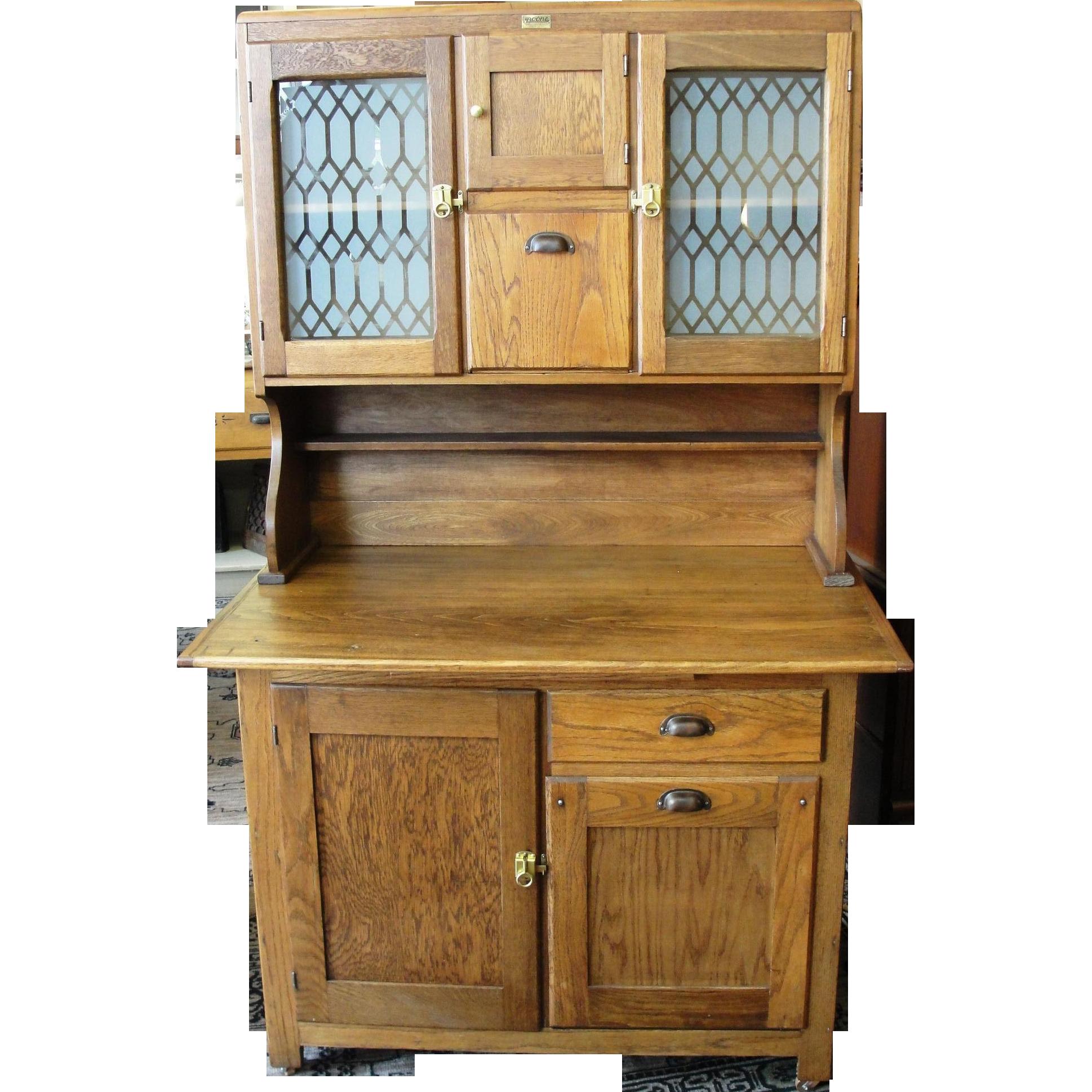 Vintage Wood Kitchen Cabinets Antique Kitchen Cabinets With Flour Bin Antiqued Kitchen Cabinets Oak Sideboard Antique Kitchen Cabinets Antique White Kitchen