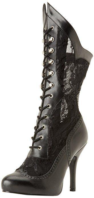 Funtasma Women's Victorian 116X BPU L Boot,Black