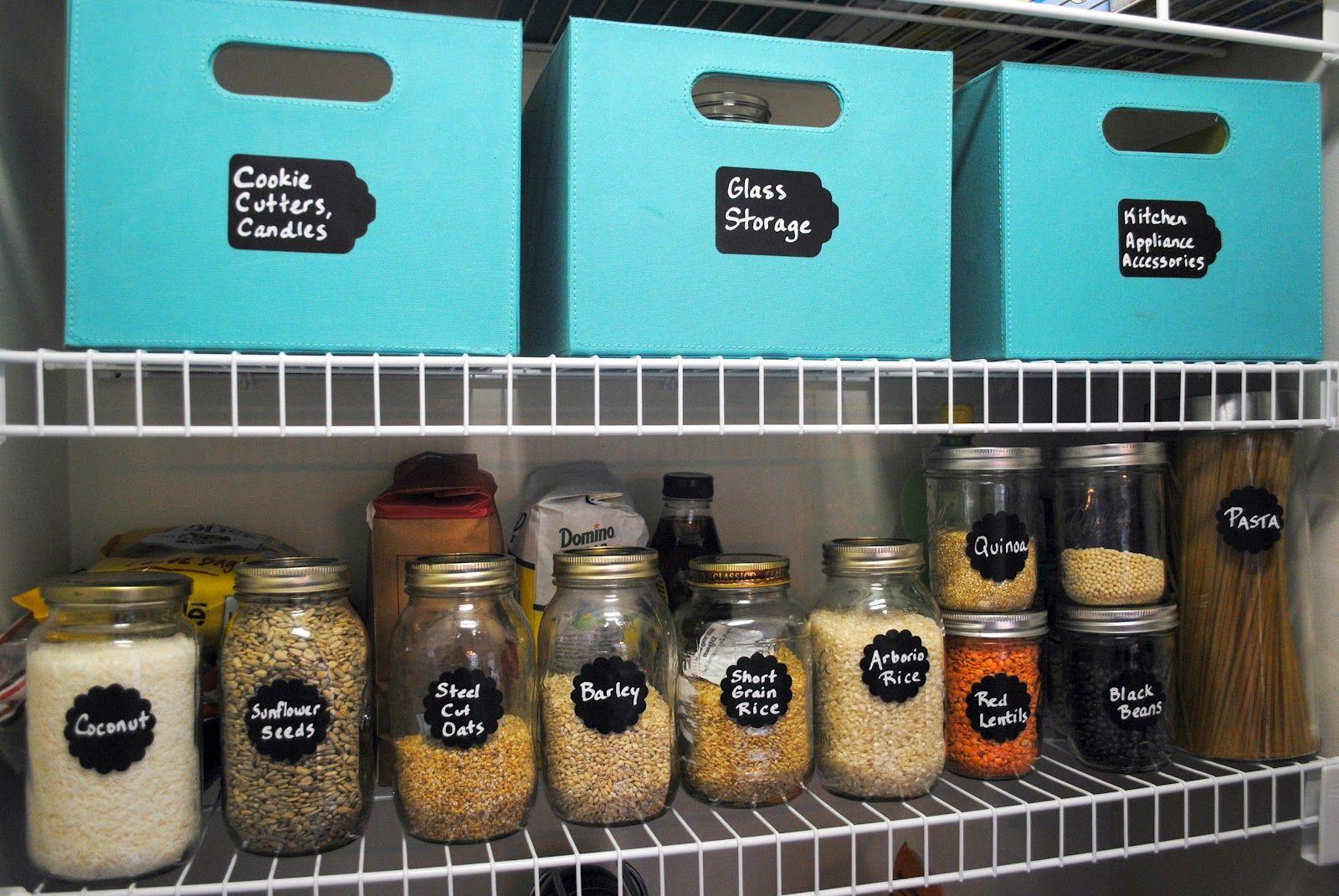 die besten 25 speisekammer organisieren ideen auf pinterest lebensmittellagerorganisation. Black Bedroom Furniture Sets. Home Design Ideas