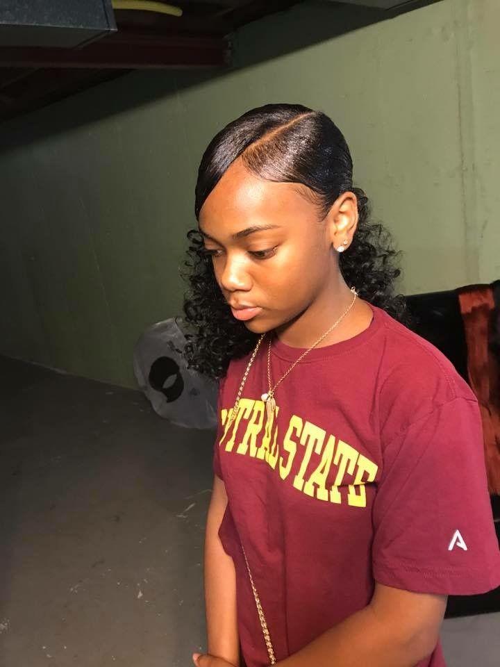 Cute Hairstyles For Black Girls Missteidrabby   Curly Hair   Pinterest  Black Girls Hairstyles