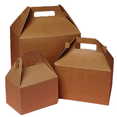 Cardboard Mini Kraft Gable Boxes 4 X 2 1 2 X 2 1 2 Bake Https Www Amazon Com Dp B00kqpfjim Ref Cm Sw R Pi Dp X 6f2pybq8zbjm Gable Boxes Mini Kraft Kraft