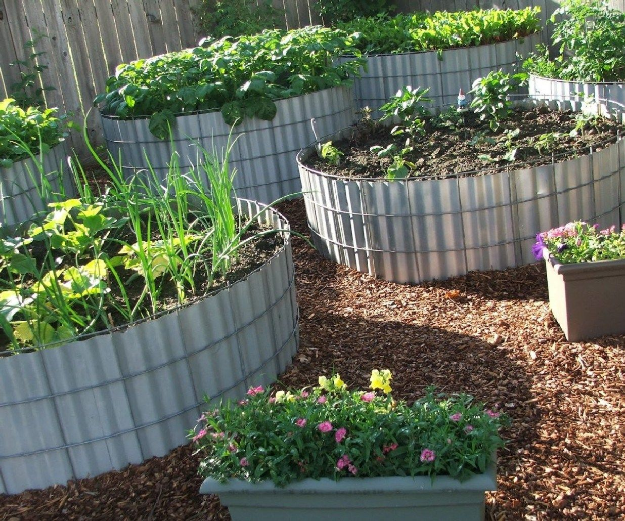 amazing beautiful round raised garden bed ideas 7 diy on awesome backyard garden landscaping ideas that looks amazing id=42070