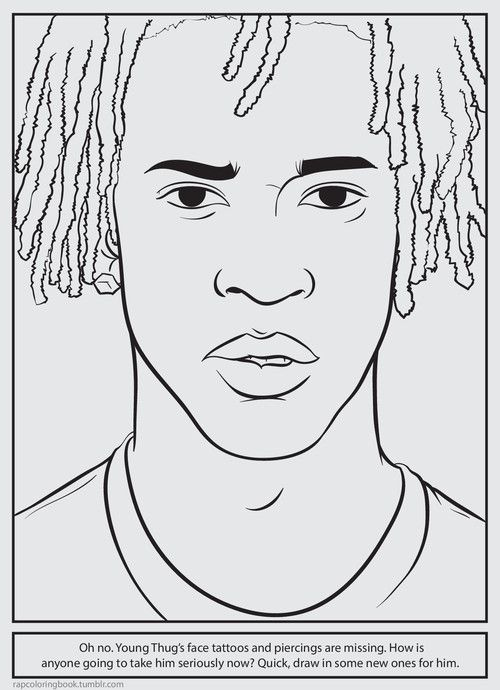 rapper coloring book page Image Bank Coloring pages for boys Black artists Coloring books