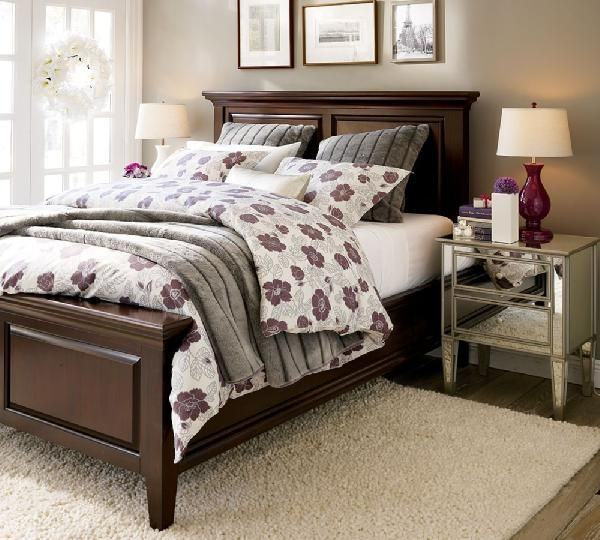 Great Example Of A Bed Frame That Promotes Healthy Chi I Only Wish It Wasn T So D Wood Furniture Bedroom Decor Dark Wood Bedroom Furniture Dark Wood Bed Frame