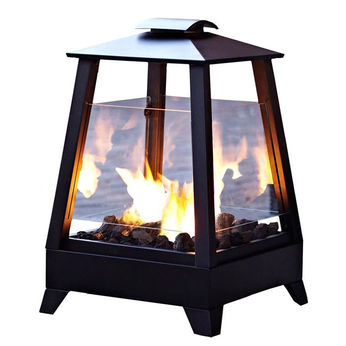 Pitchford Steel Wood Burning Outdoor Fireplace Fire Pit Backyard