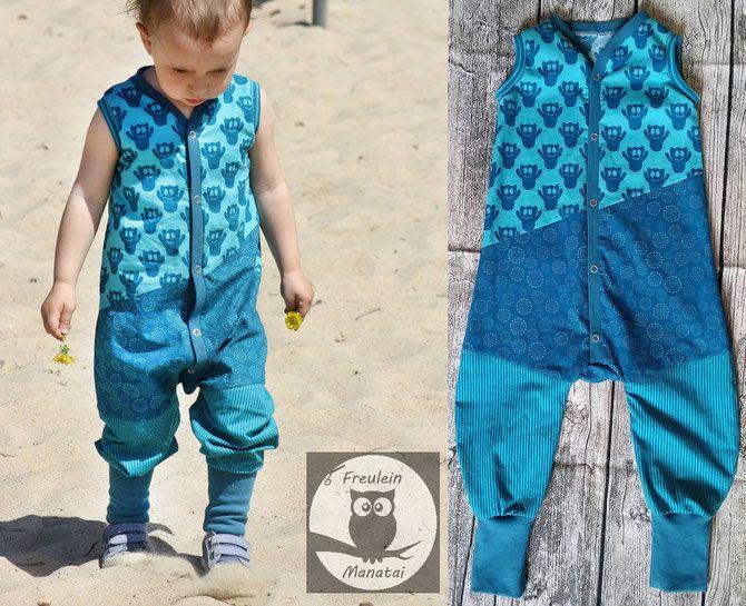 Lybstes Jumpsuit Jolly Jumper nähen, aus Musselin oder Webware ...