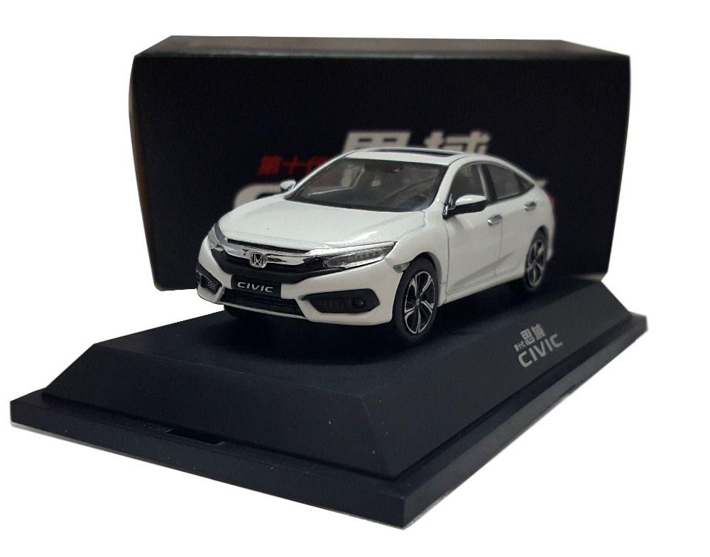 White All New Honda Civic MK Diecast Model Car Alloy - All honda model cars