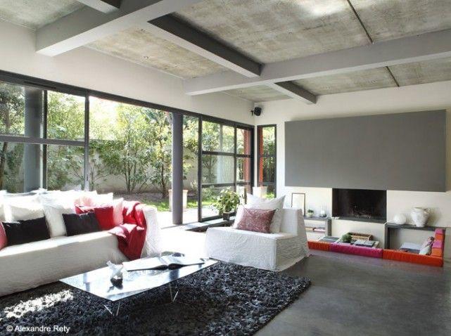 Nos 50 plus belles cheminées | Salon | Pinterest | Cheminées ...