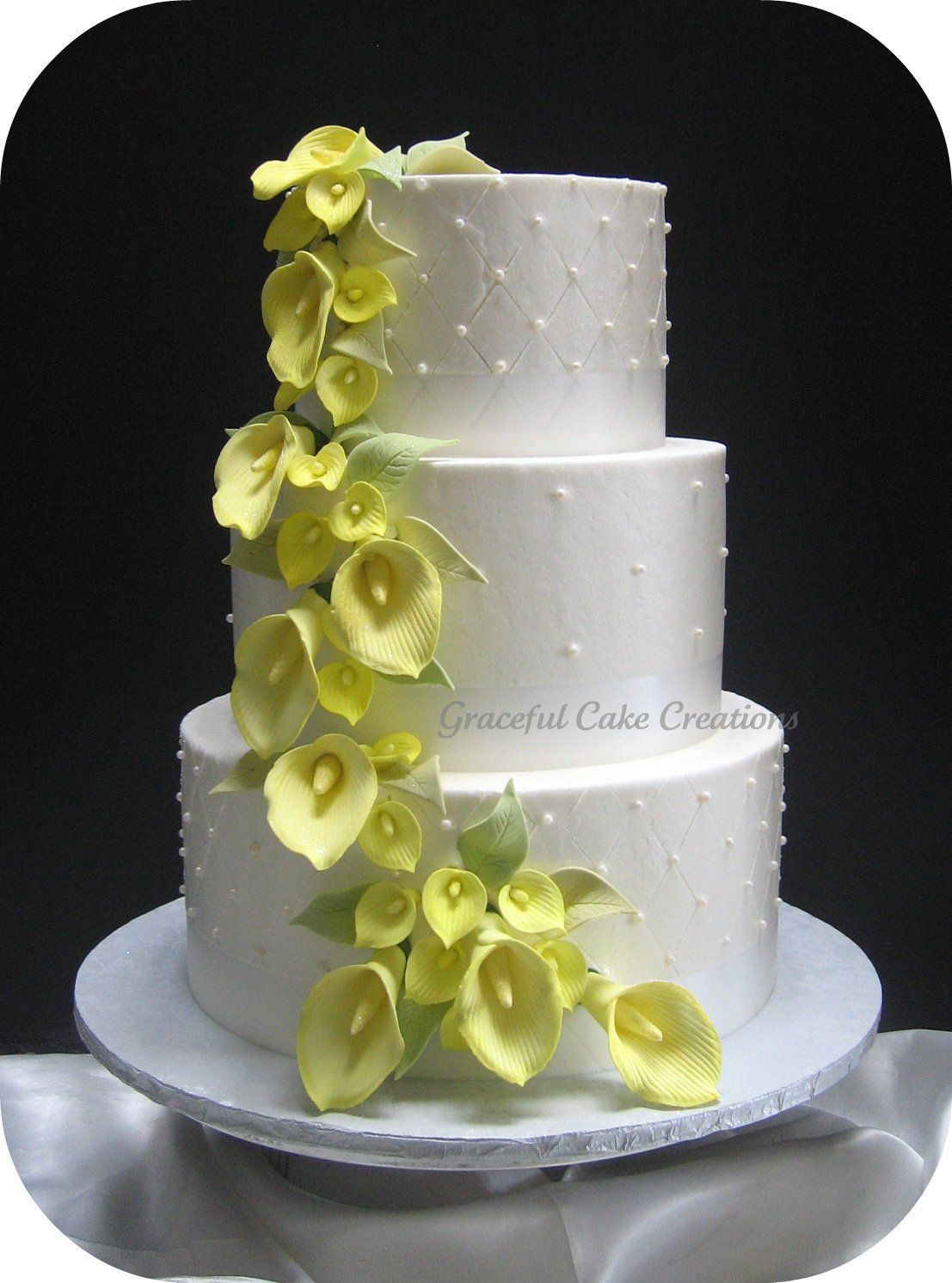 round wedding cakes pictures the 25 best yellow wedding cakes ideas on 19330