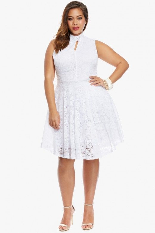 hailee lace flare dress $48.90 |for an instant dose of romance