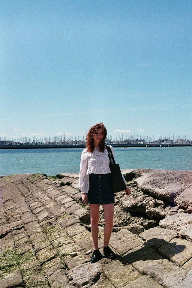 La Rochelle, France shot on 35mm film by The Twins Wardrobe